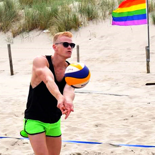 Beach Volleyball THe Hague Pride