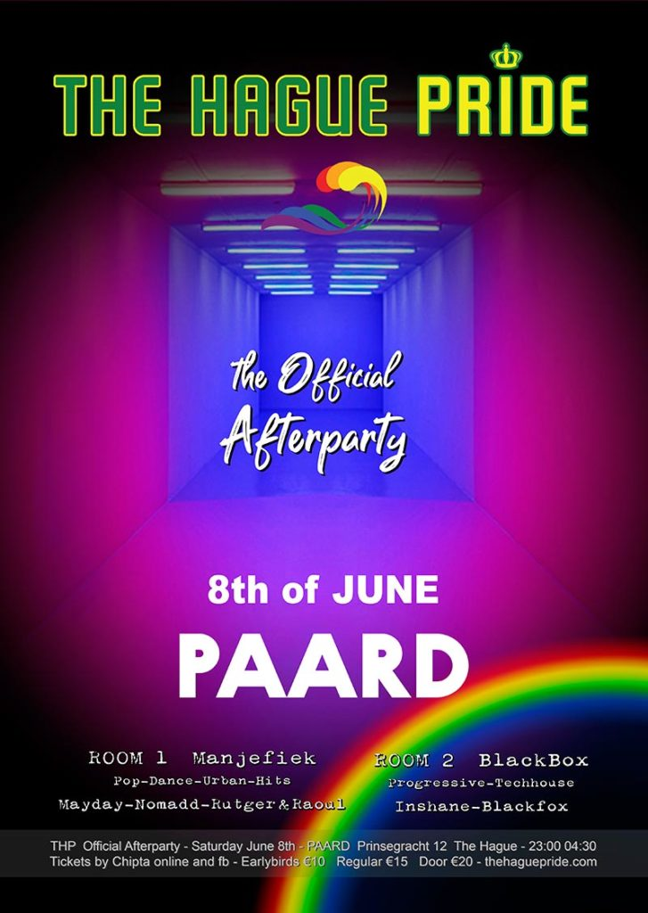 The Official Afterparty The Hague Pride